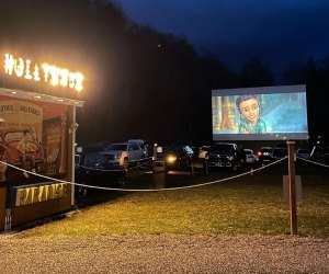 Movies, campouts, and plenty of amenities await at Four Brothers Drive-In in Armenia. Photo courtesy of the theater