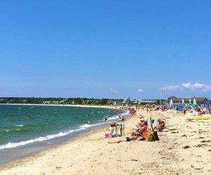 Craigville Beach is a nice big beach on Nantucket Sound. Photo courtesy of the Craigville Beach Inn