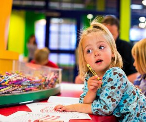 Enjoy hours of interactive play and activities at the Crayola Experience. Photo courtesy of Crayola Experience