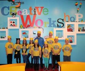 Photo of the 2017 Creative Crew courtesy of LEGOLAND Discovery Center Philadelphia
