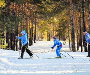 Enjoy the outdoors on cross country skis. Photo courtesy of Pexels