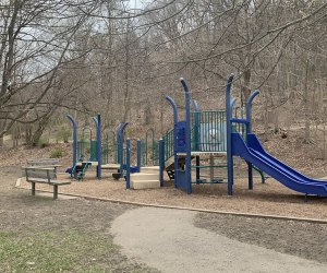 the playground at Croton Gorge park