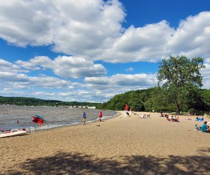Croton Point Beach. Photo courtesy of Westchester County