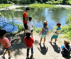 Kids can explore the natural world near Rockville Centre at the Center for Science, Teaching and Learning. Photo courtesy of the center