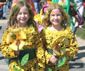 Nantucket's Daffodil Festival is one of many spring celebrations around Massachusetts.