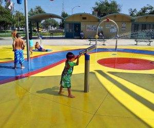 Dalton Park Splash Pad. Photo by Victor Cejeda