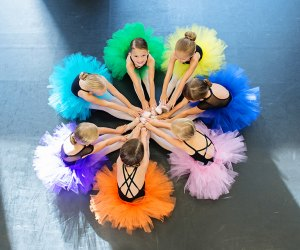 Dance classes for kids in Orlando, like the ones at Dance 360 Orlando, promote skill and friendship. Photo courtesy Dance 360 Orlando & Simply Shelby Photography