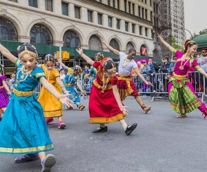 Over 1,000 dancers plus DJs and live bands will light up NYC at the annual Dance Parade. Photo courtesy of the event