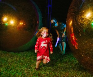 Thrill to the holiday light displays at Dazzling Nights at Leu Gardens. Photo by Dreamtime Photography