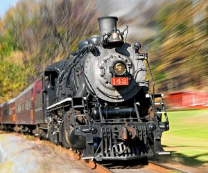 Go for a fall day trip on the Delaware River Railroad