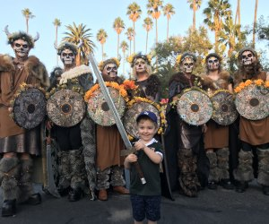 Walking in the footsteps of our ancestors at Hollywood Forever's celebration, photo by Laura Esposito