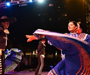 Celebrate Dia de los Muertos and all of its cultural traditions at Discovery Green. Photo courtesy of Katya Horner.