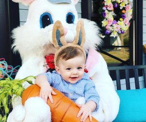 DiDonato's Easter Express includes a train ride, photo-ops, and plenty of Easter-themed fun. Photo courtesy of the venue