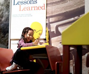Immersive exhibits teach kids about historical movements at the DiMenna Children's History Museum.