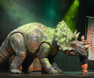 Dinosaur World Live brings the thrills with huge dinos. Photo by Robert Day