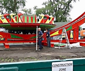 The Disk'O 24, manufacted by the Italian Company Zamperla, is coming to Playland. Photo courtesy of Westchester County
