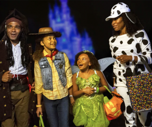 It's a family affair at the Disney After Hours Boo Bash. Photo courtesy of Disney