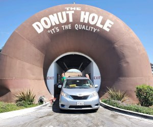 Driving through The Donut Hole is almost as much fun as eating the donuts.