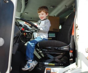 Indulge your inner trucker at  Downtown Orlando Touch A Truck. Photo courtesy of the event