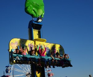 The Eastchester Columbus Day Carnival and Parade features rides for all ages.