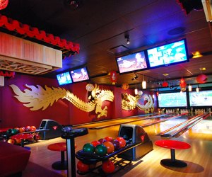 Take your bowling to Chinatown at Bowlmor Times Square
