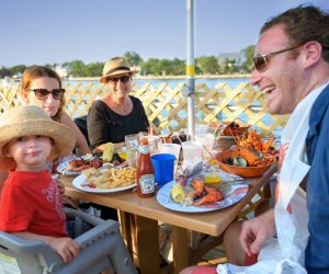 Nicky's on the Bay offers a beautiful rooftop