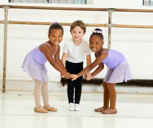 Kids get a great foundation in classical ballet at Dance Theatre of Harlem. Photo courtesy of Dance Theatre of Harlem