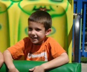 What preschooler doesn't love a day at the (amusement) park?