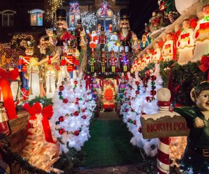 The Dyker Heights Christmas lights attract throngs of visitors to the Brooklyn neighborhood each holiday season. Photo courtesy of  Dyker Heights Lights