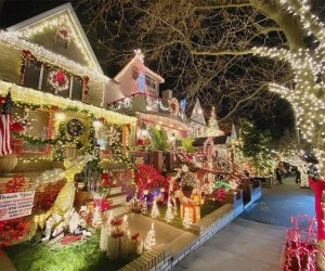 Celebrate Christmas Eve with a visit to see the stunning Dyker Lights. Photo courtesy of Dyker Heights Christmas Lights