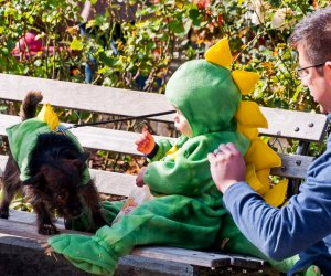 """Wicker Park's Boo-Palooza is a fun thing to do near Chicago this weekend. """"Wicker Park Boo-Palooza: Dino-Dog & Dinosaur Jr."""" by MA1216 is licensed under CC BY-NC-ND 2.0"""