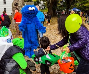 Photo courtesy of Halloween on the Green, Fairfield Museum