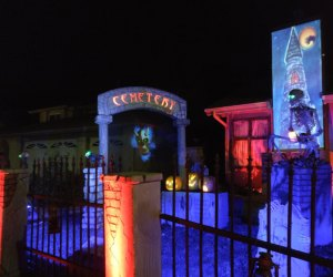 This haunted house is worth a drive from any neighborhood! Photo courtesy of Haunted Groundz, via Facebook