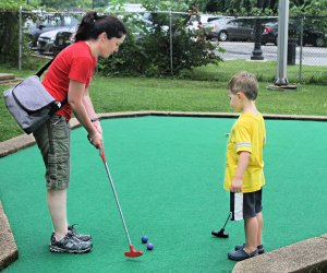 East Potomac Mini Golf is an oldie-but-goodie course, which has catered to generations. Photo courtesy of East Potomac Mini Golf