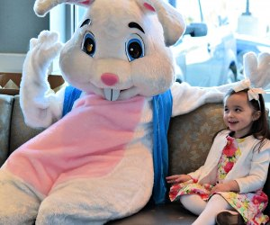 Meet and greet the Easter Bunny at brunch. Photo courtesy of The Cottage Wellesley