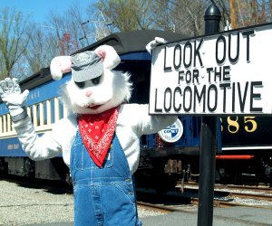 Celebrate the return of spring with a ride on the Whippany Railway Museum's 27th Annual Easter Bunny Express. Photo courtesy of the museum