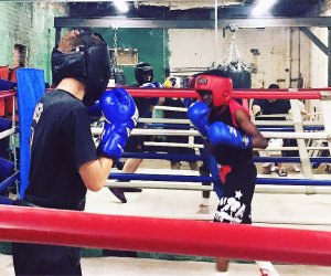 You're never too young to learn to box at Eastern Queens Boxing Club. Photo courtesy of the club