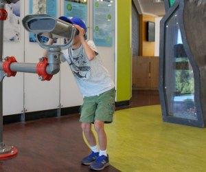 The EcoTarium encourages kids to make their own scientific discoveries. Photo courtesy of the EcoTarium
