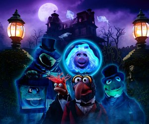 Watch Muppets Haunted Mansion with the kids; it premieres in October. Image courtesy of Disney