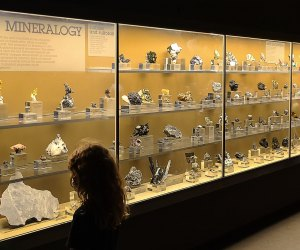 Visiting the Natural History Museum with Kids: Gem and Mineral Hall