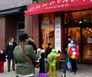 Don't miss trick-or-treating in Southport. Photo courtesy of the Lakeview Roscoe Village Chamber of Commerce.