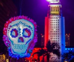 Grand Park's Dia de los Muertos celebration. Photo by Jose Sanchez