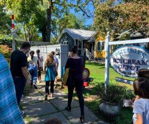 Peterson's Ice Cream Depot serves up delicious homemade ice cream in Clifton, Virginia.