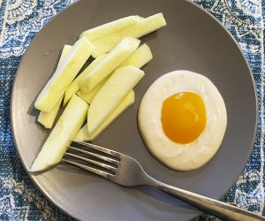 April Fools' Day Food Pranks: Apple French fries and peachy eggs