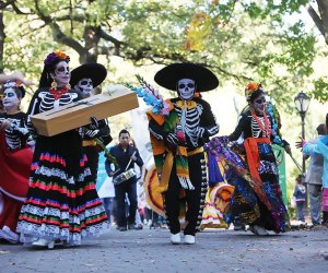 Join the Dia de los Muertos parade at El Museo del Barrio. Photo courtesy of the museum