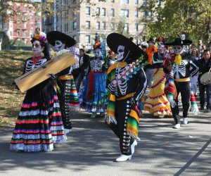 Celebrate family and tradition with face painting, art making, and performances at El Museo del Barrios SUPER SÁBADO: Día de Muertos Celebration. Photo courtesy of the museum