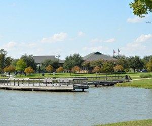 Fishing at Eldridge Park Pond