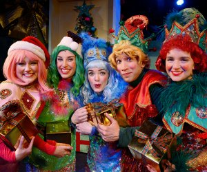 Photo courtesy of Eleanor's Very Merry Christmas Wish: The Musical