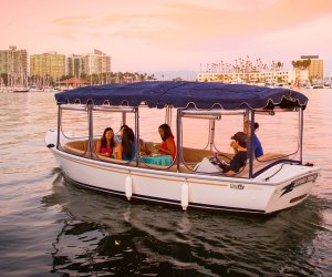 Party boat! Take a harbor tour and cruise Marina del Rey's harbor.