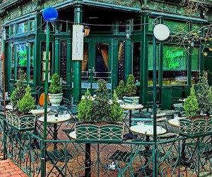 Outdoor patio Elysian Cafe